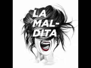 Logotipo de La Maldita